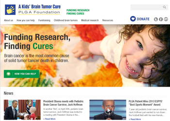 PLGA - A Kids' Brain Tumor Cure